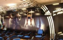 Adidas primafila group pubblicità allestimenti