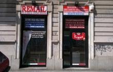 remail insegna luminosa