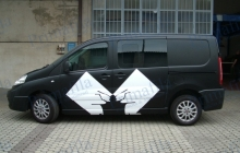 Bugs Scudo - Decorazione automezzi - Car wrapping