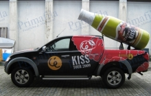 Ceres Kiss - Decorazione automezzi - Car wrapping