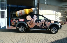 Ceres PickupSol - Decorazione automezzi - Car wrapping