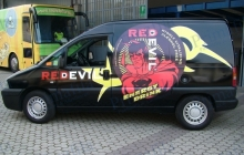 Ceres Red devil - Decorazione automezzi - Car wrapping