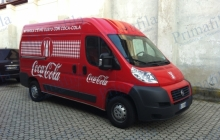 Coca cola Ducato - Decorazione automezzi - Car wrapping
