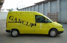 Gancia Fiat Scudo - Decorazione automezzi - Car wrapping