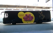 Kenwood Bus - Decorazione automezzi - Car wrapping