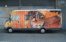 Ktm Camper - Decorazione automezzi - Car wrapping