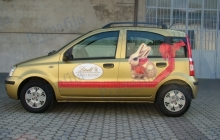 Lindt Panda - Decorazione automezzi - Car wrapping