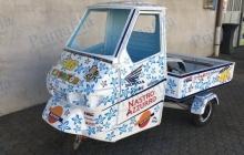 Valentino Rossi 46 Ape - Decorazione automezzi - Car wrapping