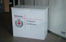 Milano Città Desk Primafila Group Pubblicità ed Allestimenti