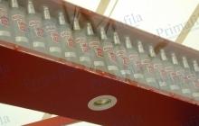 porta bottiglie expo espositori banco punti vendita allestimenti