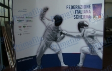 Campionato scherma extend pubblicitario pop up