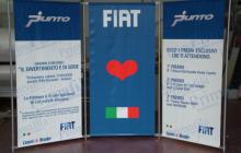 Fiat fondale pubblicitario
