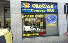 Orocash Insegna Fronte Illuminate - Primafila Group Pubblicità e Allestimenti