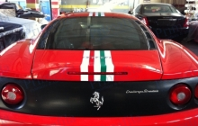 car wrapping auto italia ferrari