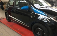 car blu wrapping auto
