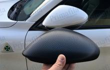 car wrapping dettaglio carbonio