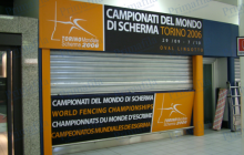 Campionati del mondo di scherma Torino - Primafila Group Pubblicità e Allestimenti