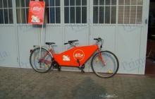 alice tandem bicicletta pubblicità