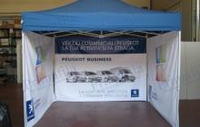 Peugeot - Tende e Gazebo - Primafila Group Pubblicità e Allestimenti
