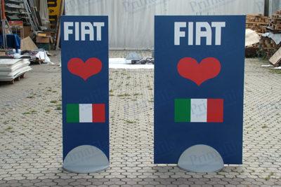 Fiat Base deluxe - Espositore pubblicitario