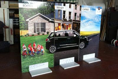 Fiat 500 L - Base quadro - Espositore pubblicitario
