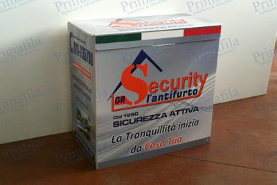 Gr Security antifurto banchetto desk promozionale