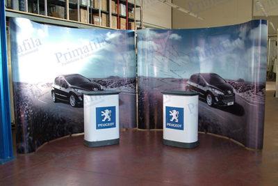 Peugeot Extend pop up e desk - Espositore pubblicitario